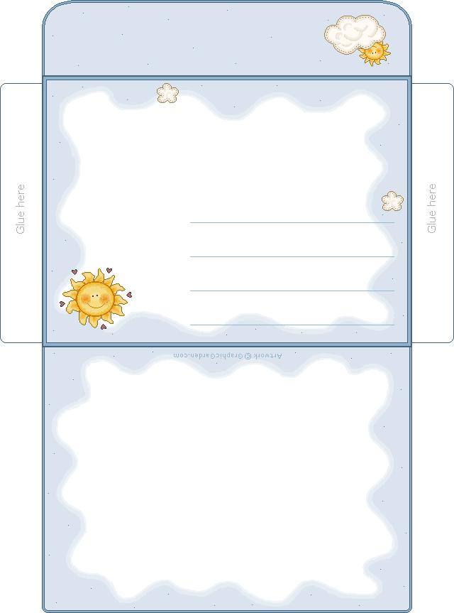 Printable Envelope on Pinterest   Envelopes, Envelope Templates and ...